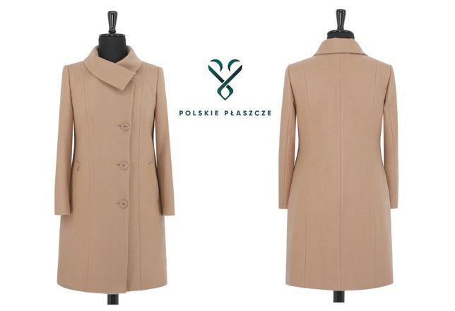 HUNA MELANIA polski płaszcz zimowy ocieplany rozmiary