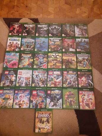 Gry Xbox One X S lego rivals sims diablo rocket Minecraft Rayman nfs