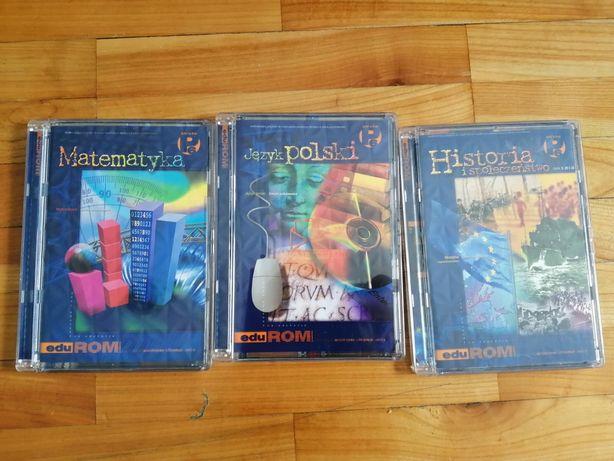 Kasety dla klasy 6-matematyka, historia, polski