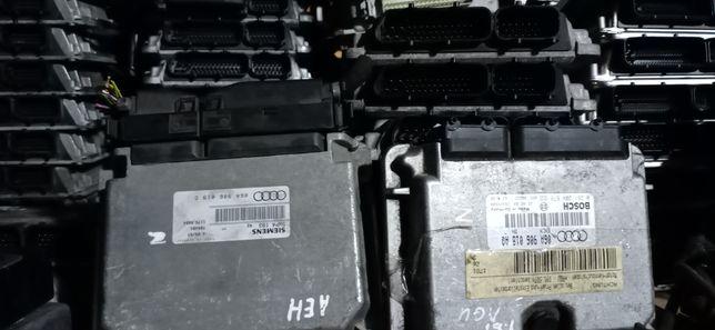 VW/ЄБУ Блок управления двигателем,компютер AUDI A3/A4/A6/VW GOLF/SKODA