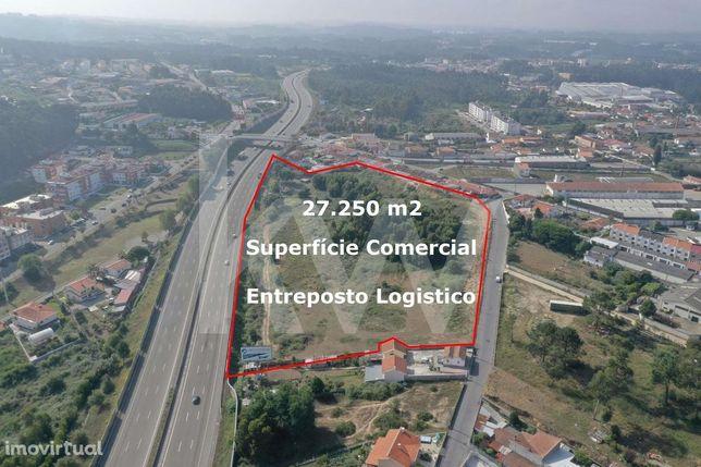 Terreno – 27.250 m2 - Superfície Comercial / Entreposto Logistico – Sa