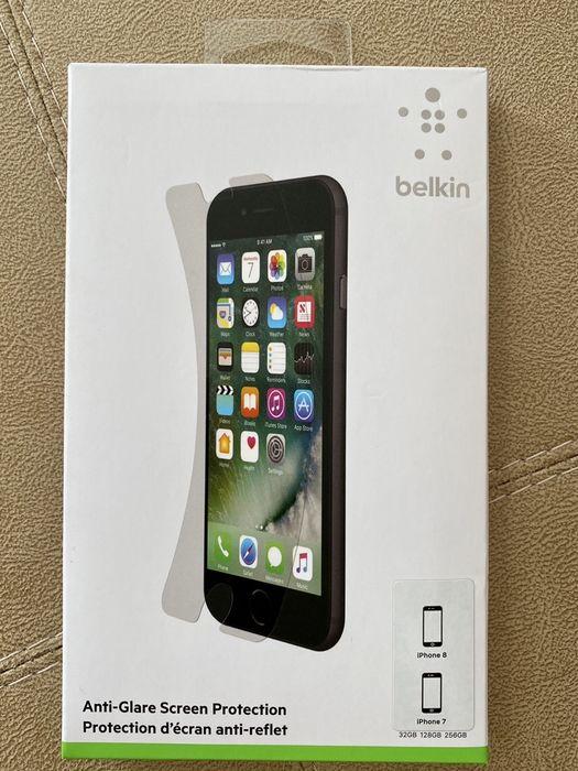 Антибликовая защита экрана Belkin для iPhone 8 и 7 Кременчуг - изображение 1
