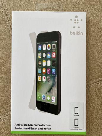 Антибликовая защита экрана Belkin для iPhone 8 и 7