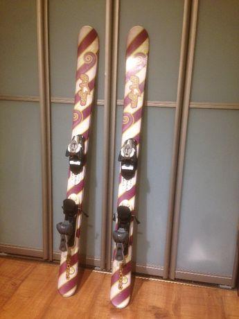 Narty dziecięce WEDZE QUECHUA 130 cm Decathlon Frestyle snow blade