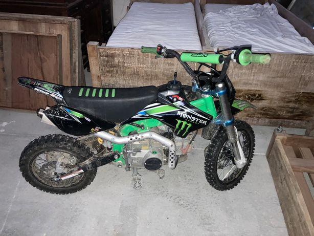 Vendo moto cross ( pit bike ) 125cc
