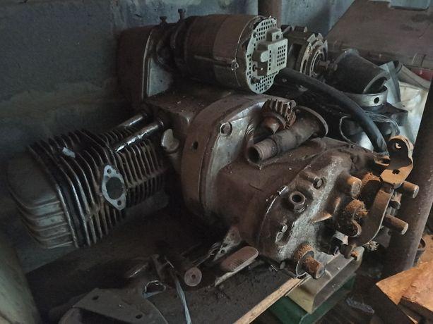 Двигун Мт з коробкою