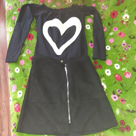Komplet spódnica z bluzka