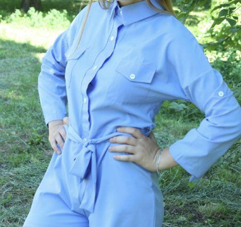 Продам жіночий комбінезон, голубого кольору.
