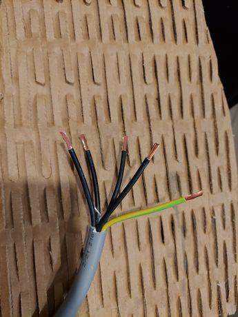 Kabel 5x4mm linka