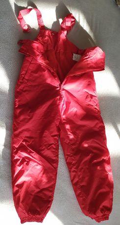 Spodnie narciarskie wzrost 134cm