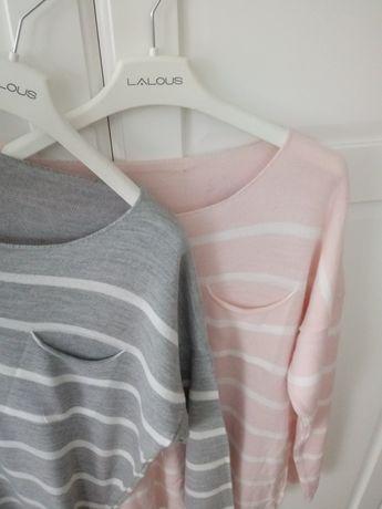 Sweter w paski Oversize