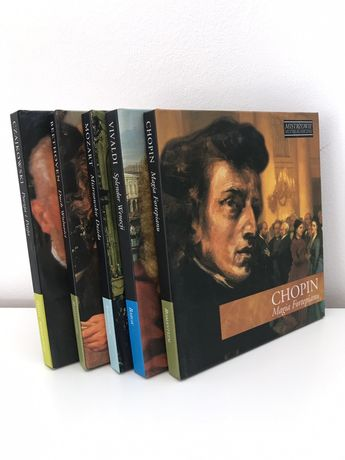 Płyty CD muzyka klasyczna Chopin Czajkowski Vivaldi Beethoven Mozart