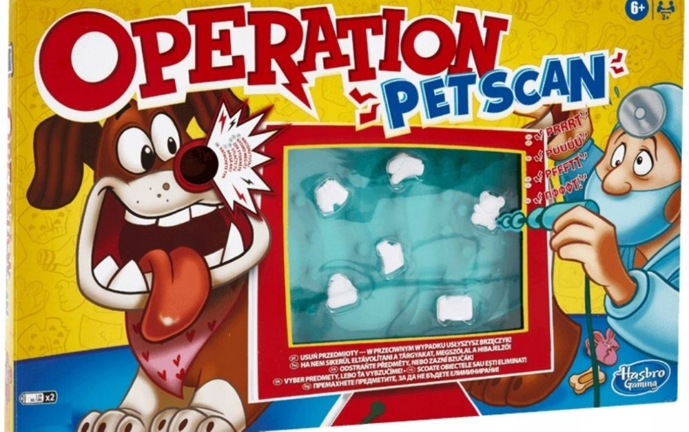 Nowa gra operacja pies pet scan hasbro Radom - image 1