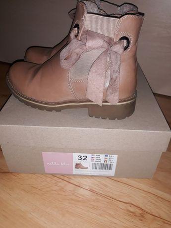 Kozaki zimowe buty roz 32