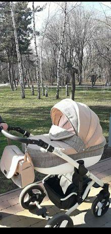Детская коляска deluxe 2 в 1