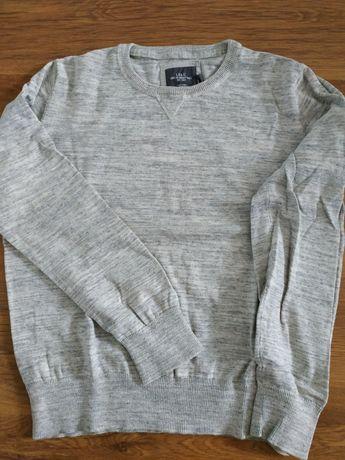 Sweter bawełniany H&M męski r.XL