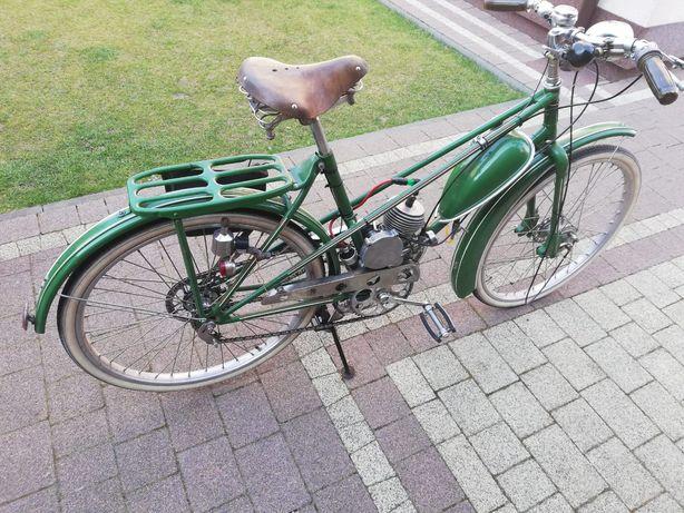 Rower z silnikiem doczepnym