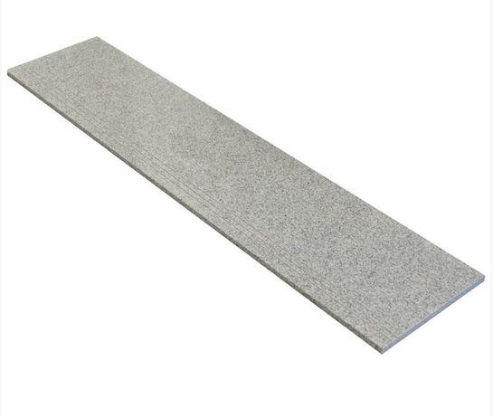GRANIT poler, ryflow.–150x33x2 cm kamień szary GREY - stopnie