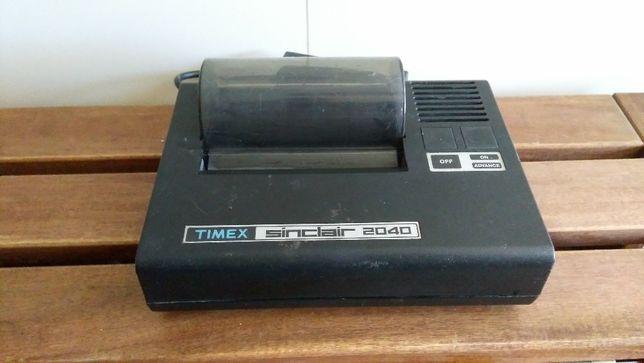 Impressora TIMEX SINCLAIR 2040 RARO !