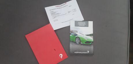 Wyjątkowy prezent - przejażdżka Lamborghini Huracan. Polecam