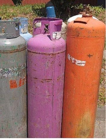 butla gazowa 33kg pełna lub pusta