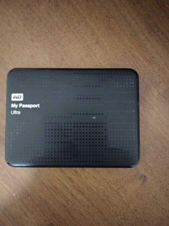 Флешка,внешний диск wd my passport ultra 1tb