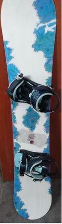 Deska Snowboardowa Rossignol Gala 146cm z Wiązaniami