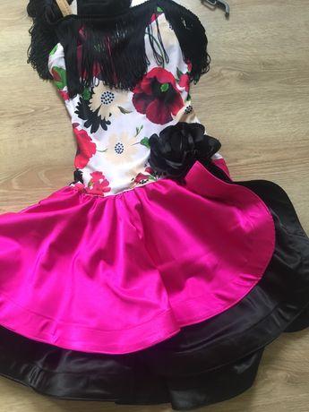 Sukienka do tańca towarzyskiego latino
