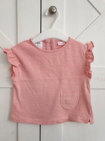 T-shirt dziewczęcy rozmiar 74 Zara