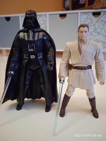 Figurki STAR WARS Darth Vader i Obi Wan Kenobi  z 2011 roku