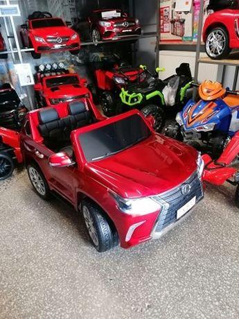 Samochód Lexus na akumulator dla dzieci 4 x 45W Lakierowany