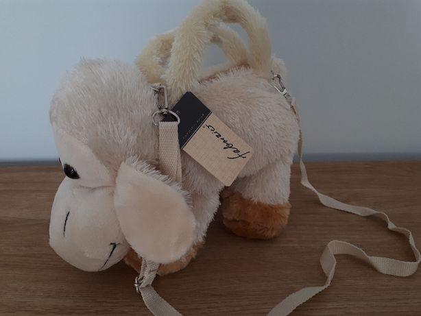 NOWA Torebka - owieczka na skarby dziewczynki