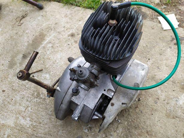 Silnik WSK 125 WFM kartery skrzynia sprzęgło zapłon cylinder sprawny