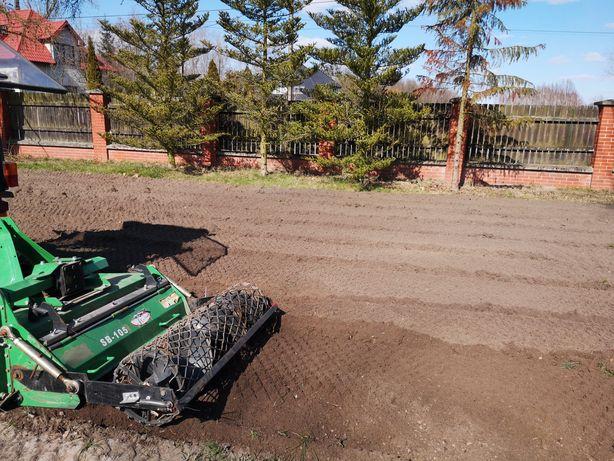 Usługi traktorem glebogryzowania koszenie bijakowa oranie