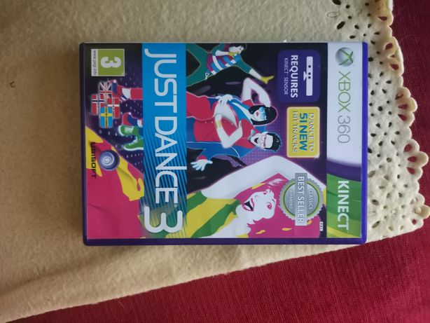 Just dance 3 Xbox 360 kinect