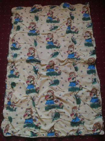 Одеяло детское 120/80см шерстяное шерсть овцы теплое дитяча ковдра