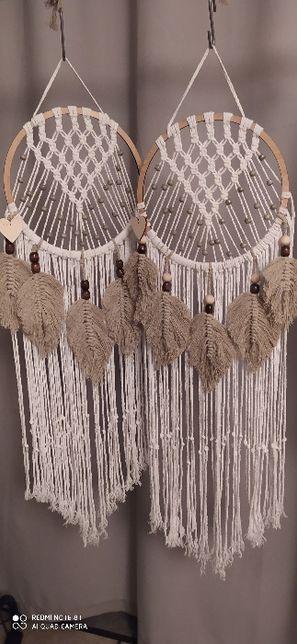 Łapacz snów - makrama, piórka, handmade