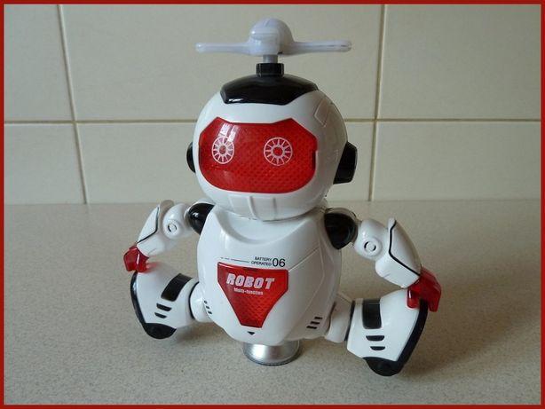 Robot elektroniczny - tańczący!. Ruch, Taniec, Światło, Dźwięk.