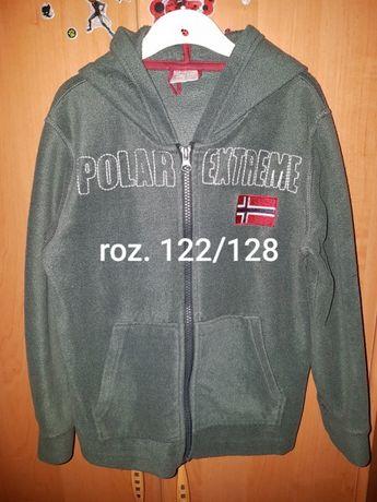 Bluza polar z kapturem 122/128