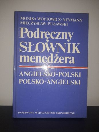 Podręczny słownik menedżera ( angielsko-polski, polsko-angielski)