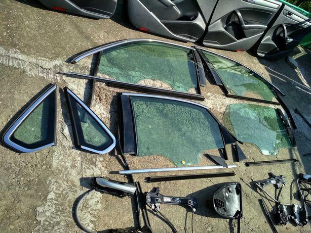 Дверная карта, стекло, хром, молдинг, замок, обшивка VW Passat B7 USA
