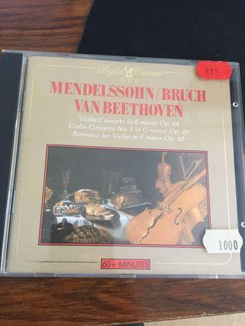 Cd Mendelssohn / bruch van beethoven
