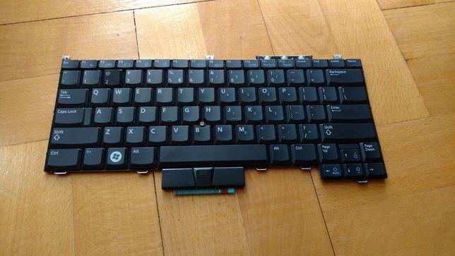 Klawiatura DELL Latitude qwerty laptop używana idealny stan jak nowa