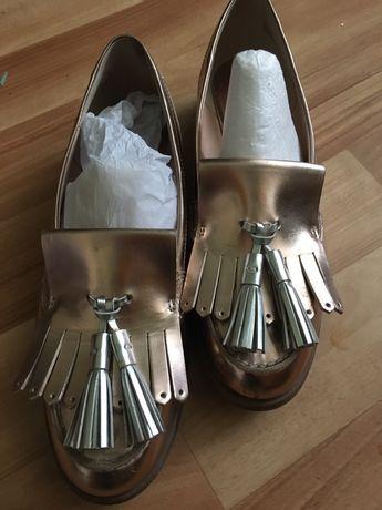 Туфли лоферы Clarks 37 р. 24 см
