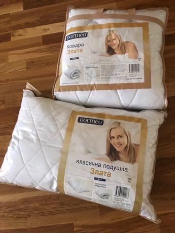 Dormeo ковдра+подушка
