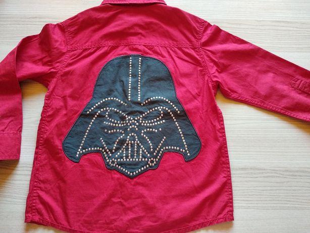 Super bluzka z autem NOWA i Koszula Star Wars H&M