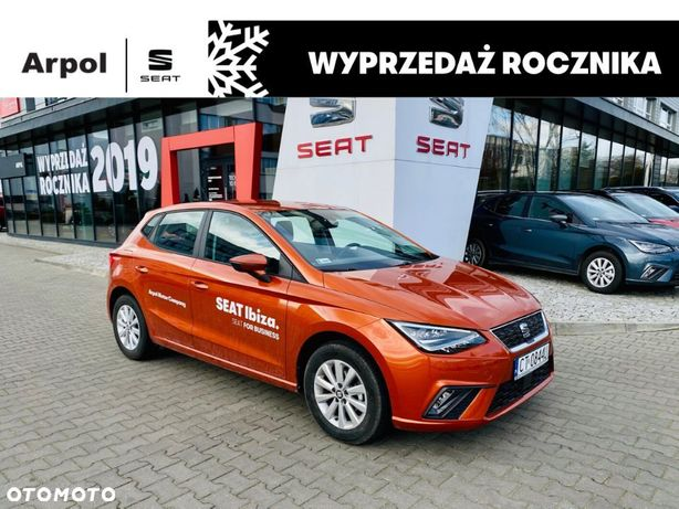 Seat Ibiza Full Led 1.0 TSI 95 KM ZAREJESTROWANY ! ! ! / Rower...