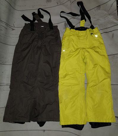 2 pary spodni kombinezonowych 122/128  crivit