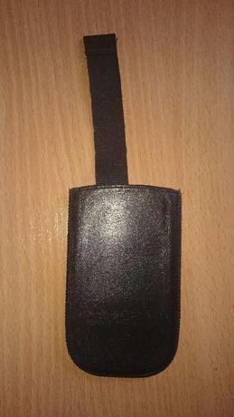 Etui na telefon smartphone pokrowiec skórzany skóra naturalna