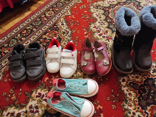 Обувь зима осень для девочки